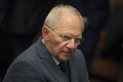 Wolfgang Schaeuble in Brussels on Dec 5.