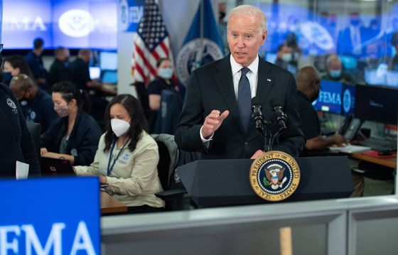 Biden Pledges 'Full Might' of U.S. for Gulf Hurricane Recovery