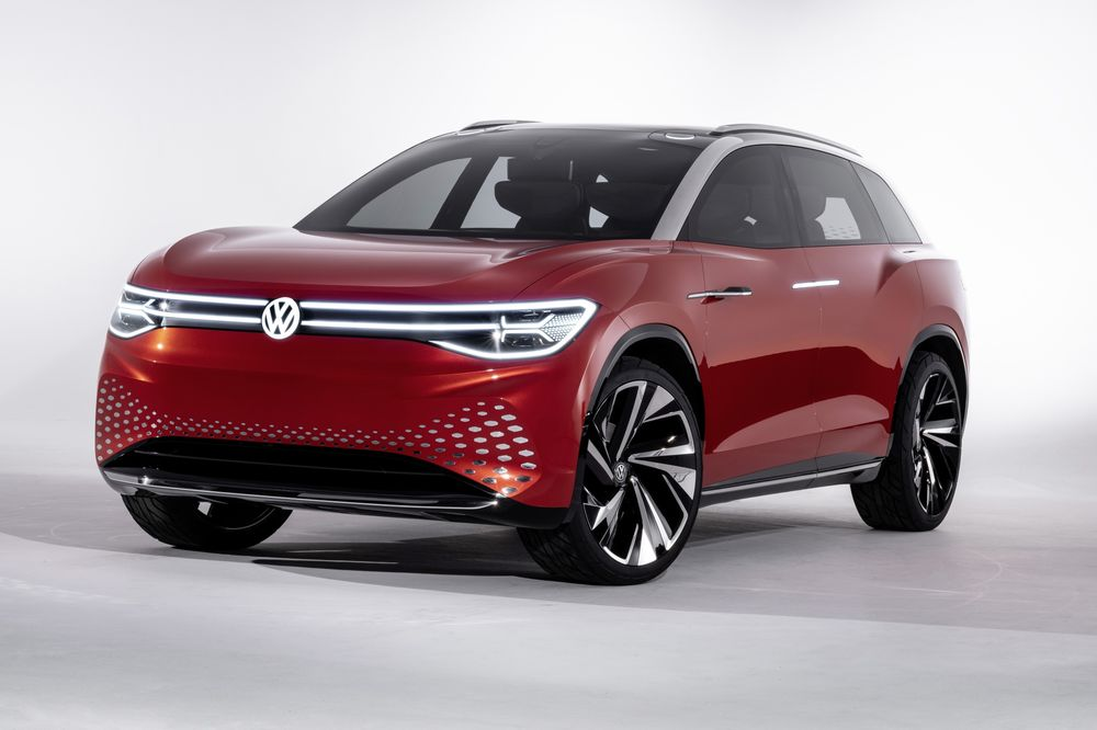 Volkswagen Ag S Roomzz Concept Sport Utility Vehicle
