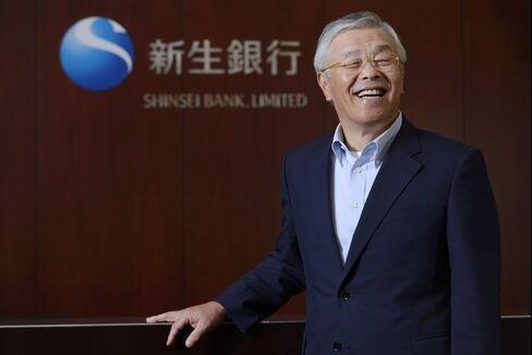 Shinsei Bank CEO Shigeki Toma