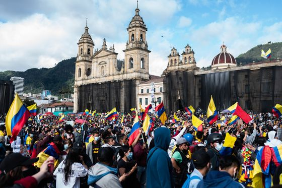 Colombian GDP Smashed Forecasts Before Unrest Soured Outlook