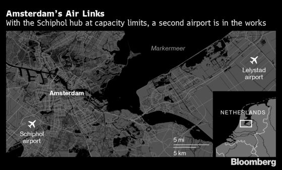 Amsterdam's Ghost Airport Grounded by Growth-Climate Clash