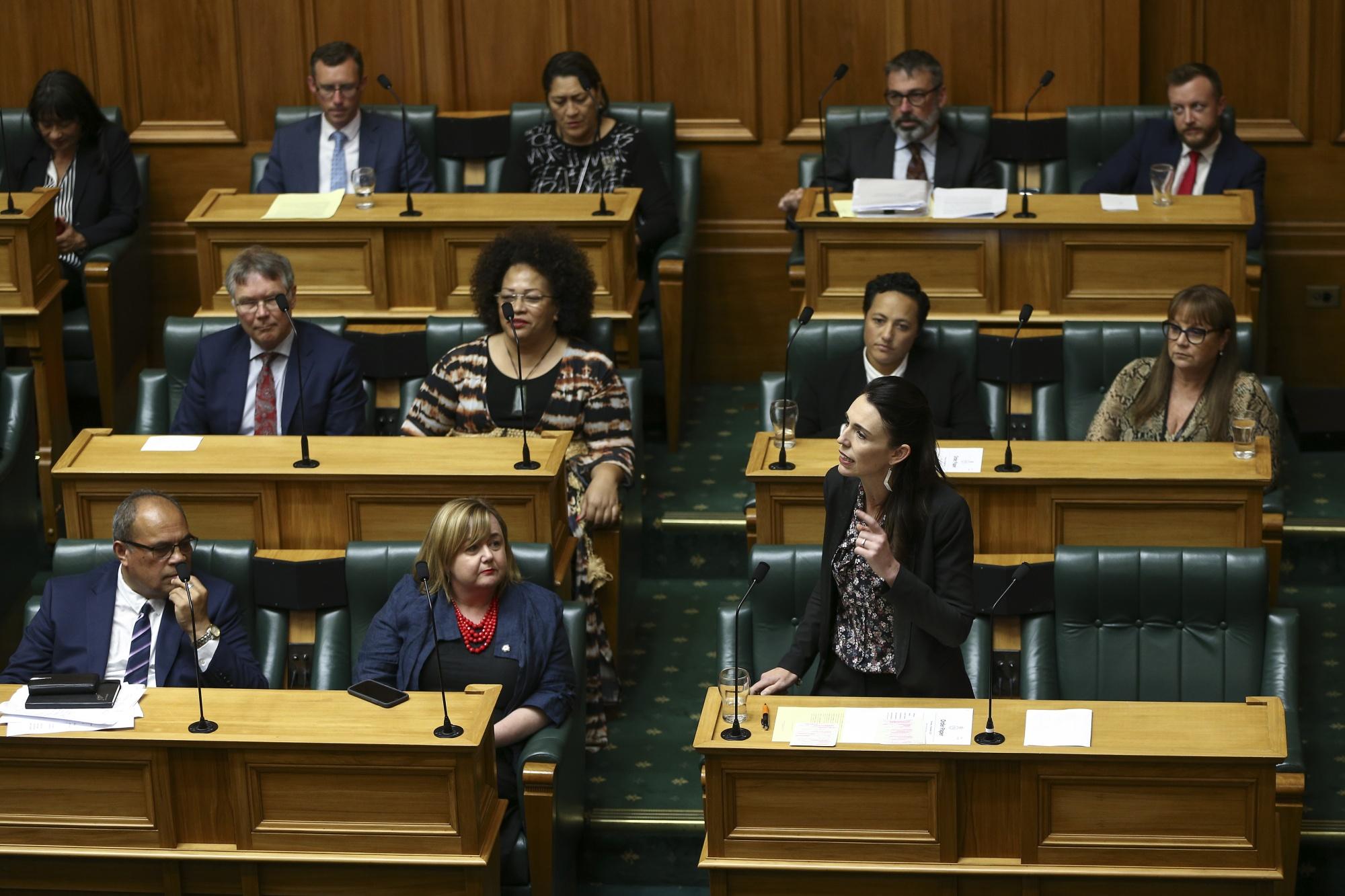 New Zealand Parliament Votes On Zero Carbon Bill