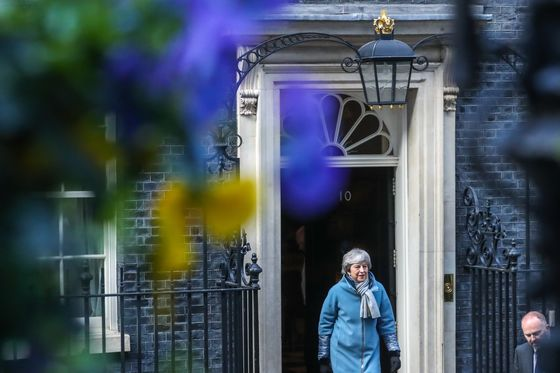 Theresa May Wins U.K. Parliament's Backing for Her Plan to Delay Brexit