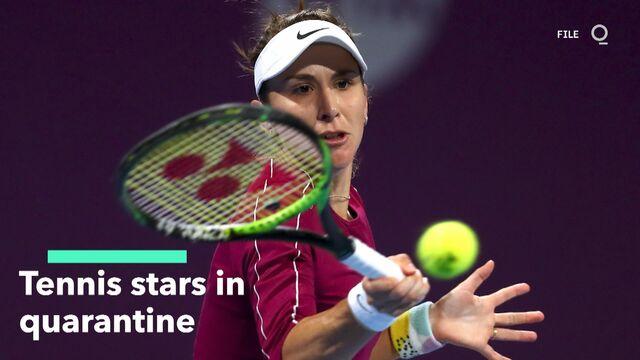 Tennis Stars in Quarantine