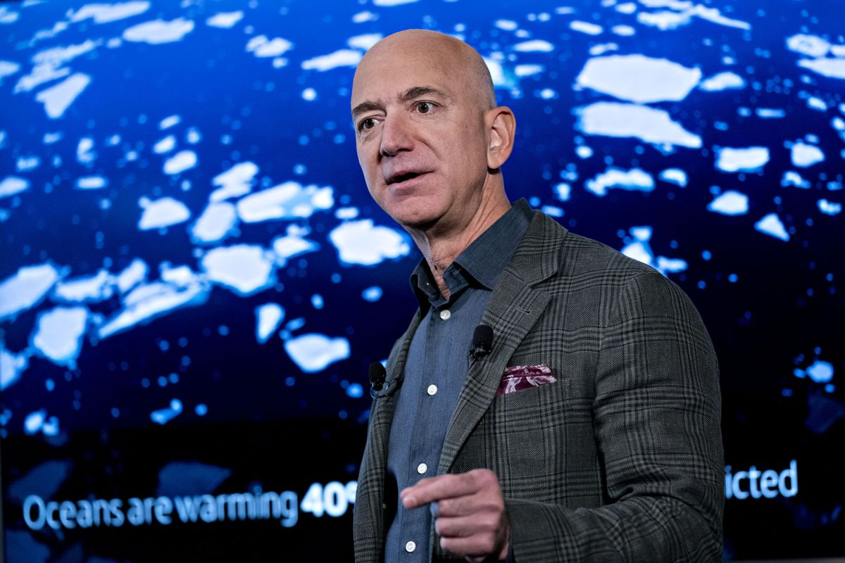 What Bezos's $10 Billion Can Do for the Climate Fight