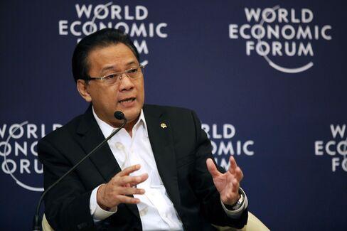 Indonesia's Minister of Finance Agus Martowardojo