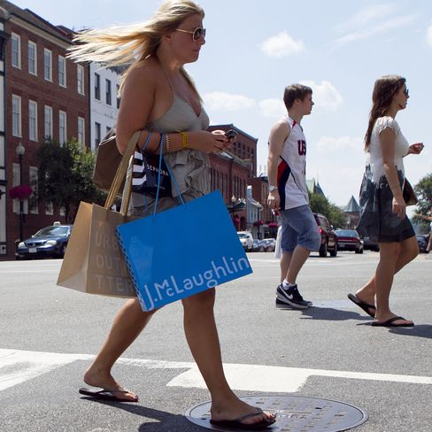 U.S. Consumer Spending, Incomes Unexpectedly Stagnate