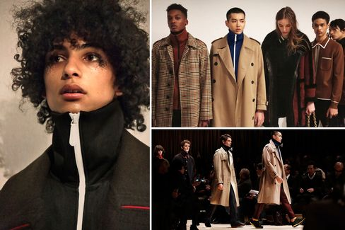 Burberry's recent runway collection, including behind the scenes, was live-streamed on Apple TV.