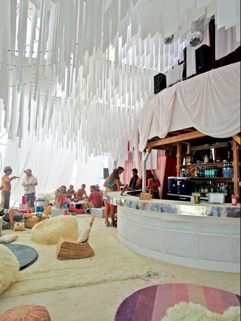 The 24-hour bar at Camp Caravancicle.