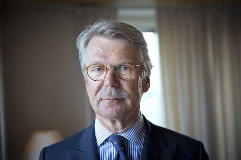 Nordea Bank AB Chairman Bjoern Wahlroos