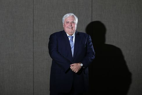 Mineralogy Chairman Clive Palmer
