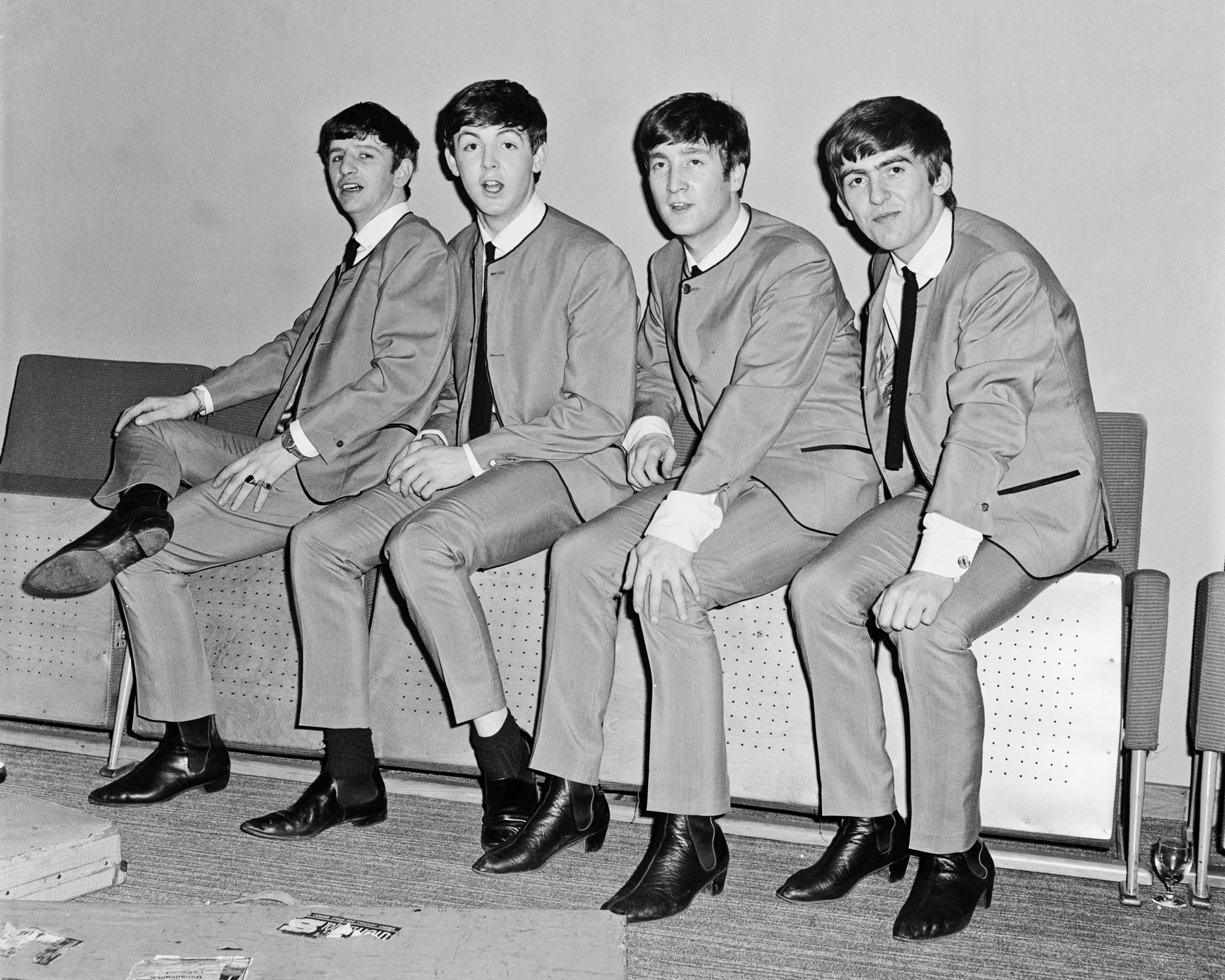 The Beatles in 1963, sporting the Chelsea boot.