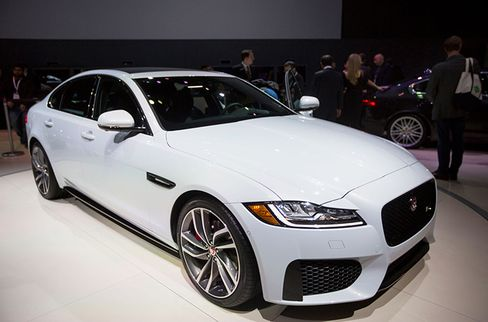 The XF is one of three models Jaguar will introduce this year.
