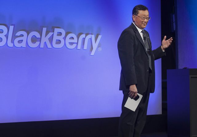 BlackBerry open to working with Apple or Google on autonomous vehicles