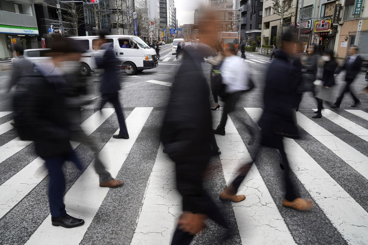 Japan's Wages Fall Again, Adding to Concerns Over Tax Hike