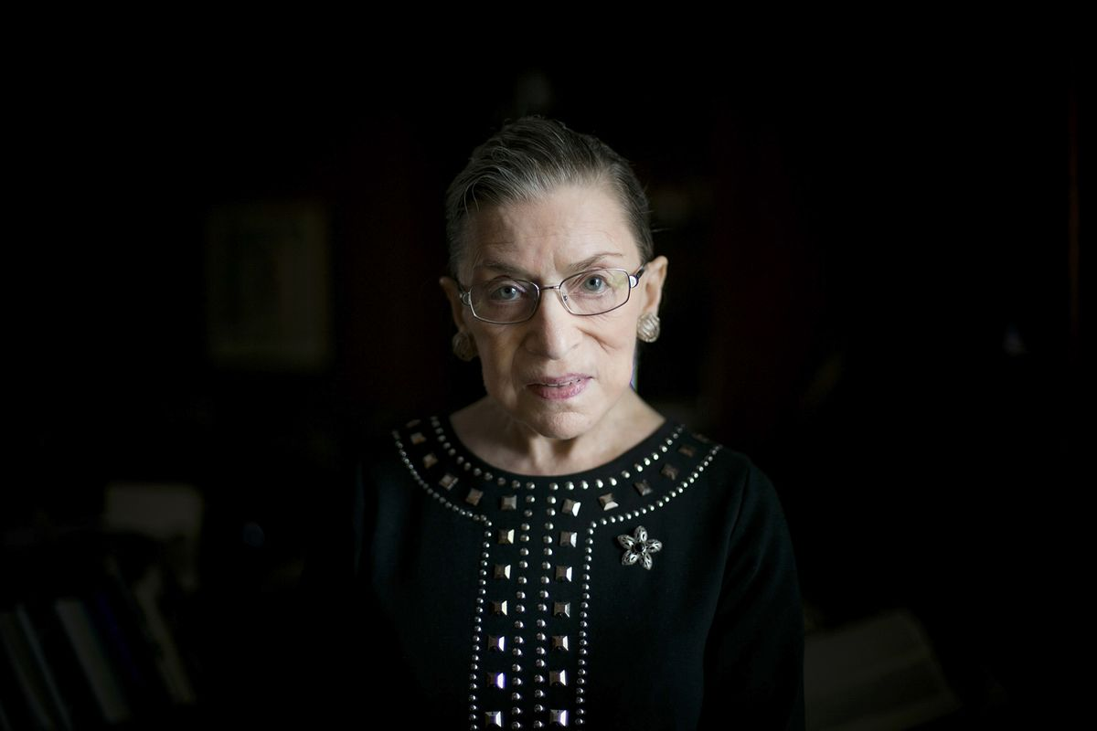 Ruth Bader Ginsburg Isn't Giving Up Her Fight for Women's Rights