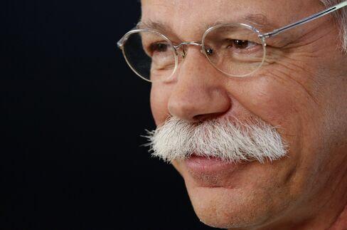 Daimler Chief Executive Officer Dieter Zetsche