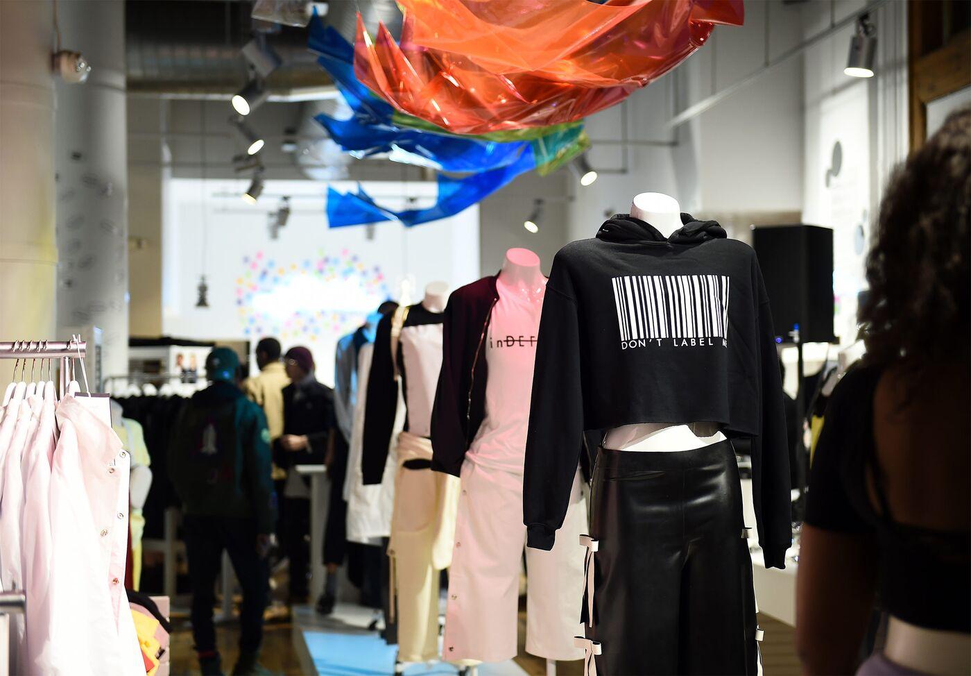 inDEFINED NYC Pop-Up Shop