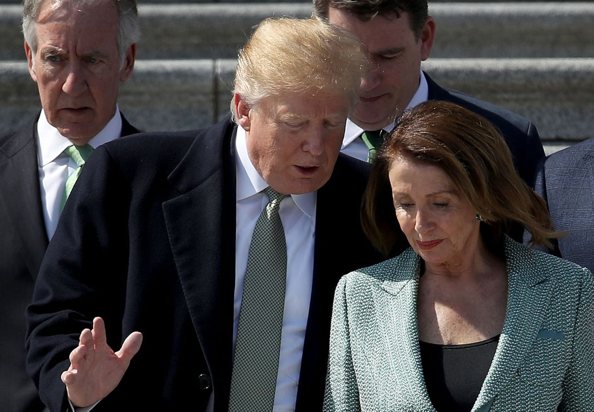 Trump Shoves Aside Deficit Worries in Debt Deal With Pelosi