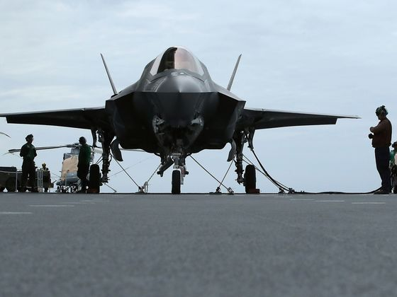F-35 Jet Delivery Was Paused for Fix to Avert Fuel Explosions