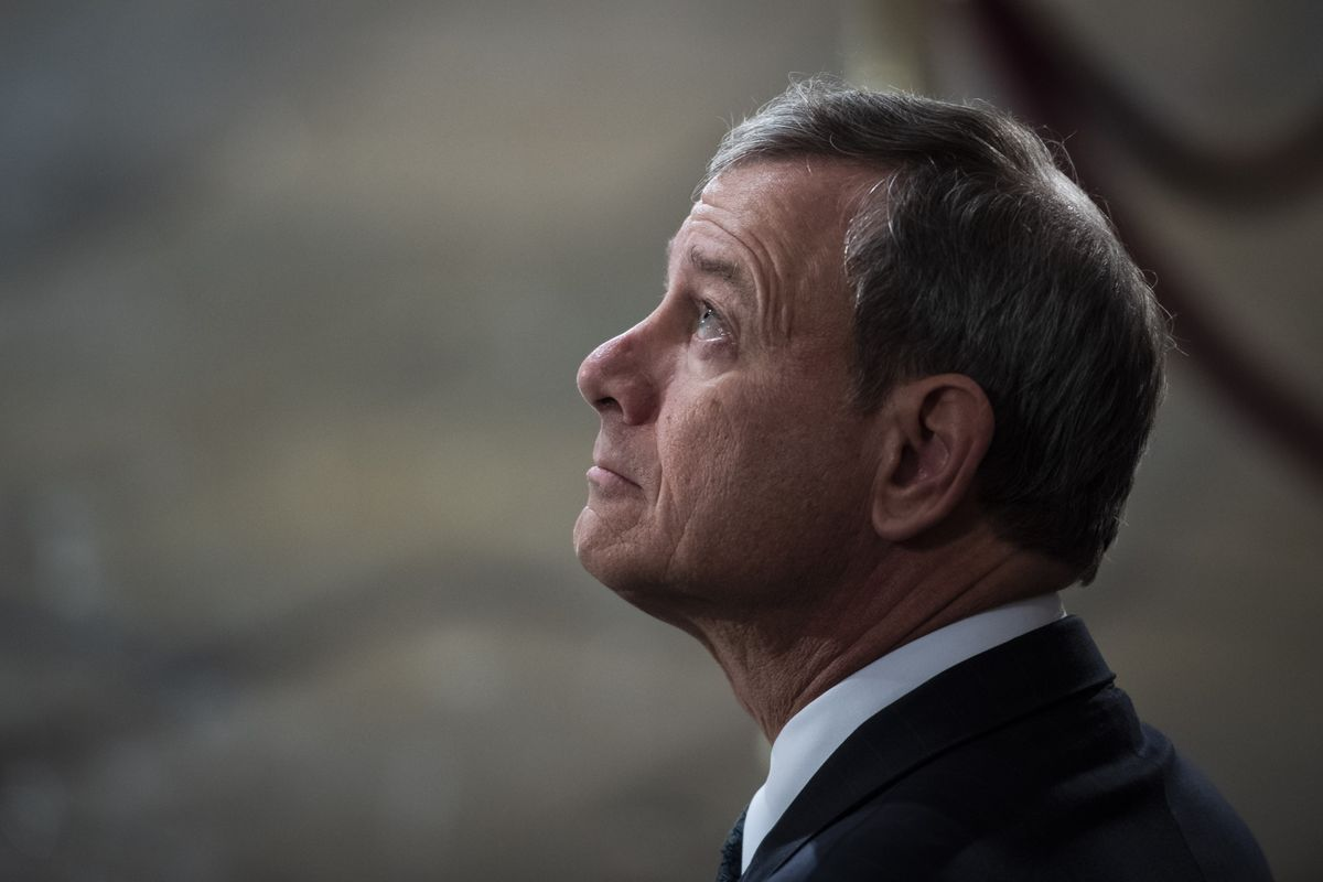Supreme Court Not Politically Split, Chief Justice Roberts Says