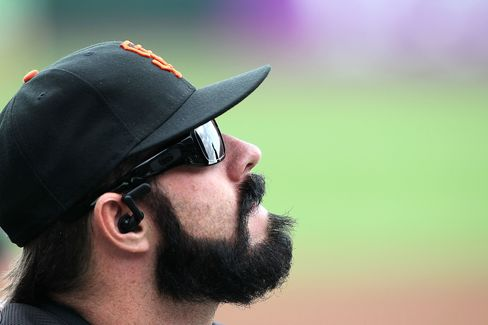San Francisco Giants relief pitcher Brian Wilson