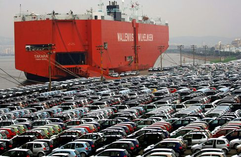 Car Carriers Profit on Record Demand as Shipping Falls