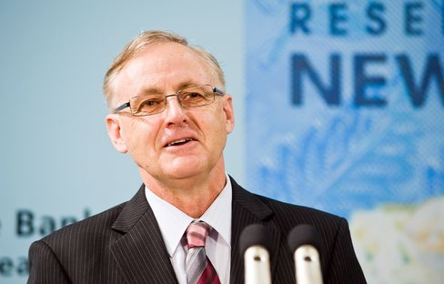 Alan Bollard, governor of the Reserve Bank of New Zealand