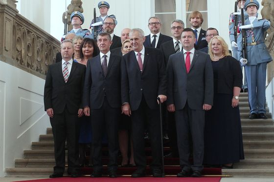 Czech Billionaire'sCabinet Takes Over After Feud With President