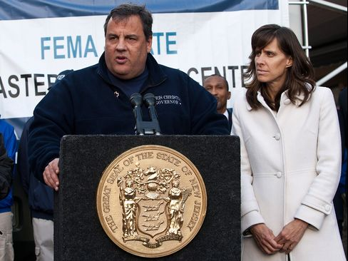 NJ Governor Chris Christie & Hoboken Mayor Dawn Zimmer
