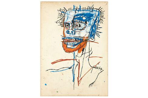 Jean Michel Basquiat, Untitled (Head of Madman),1982