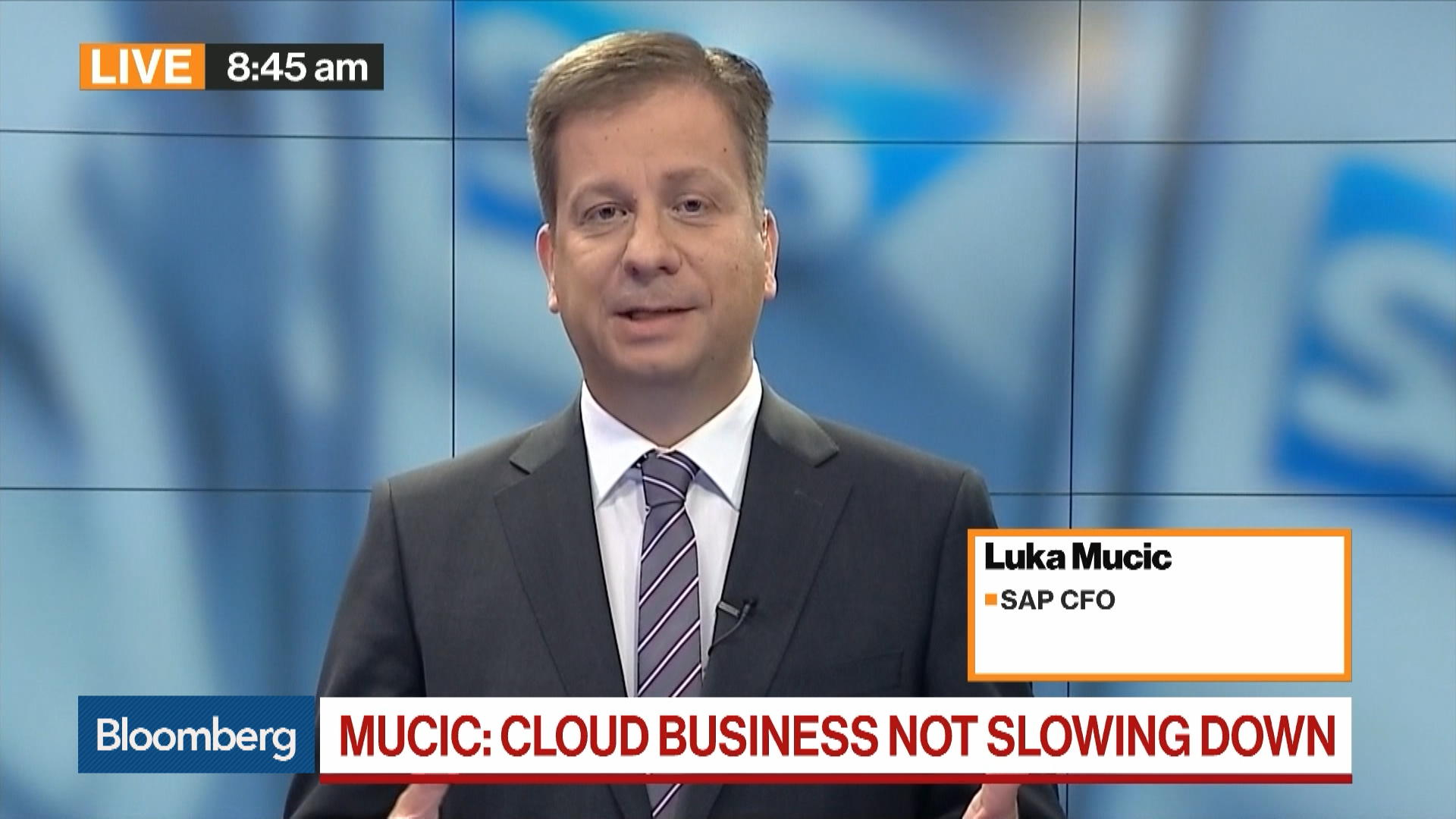 Cloud Business Is Not Slowing Down, Says SAP CFO