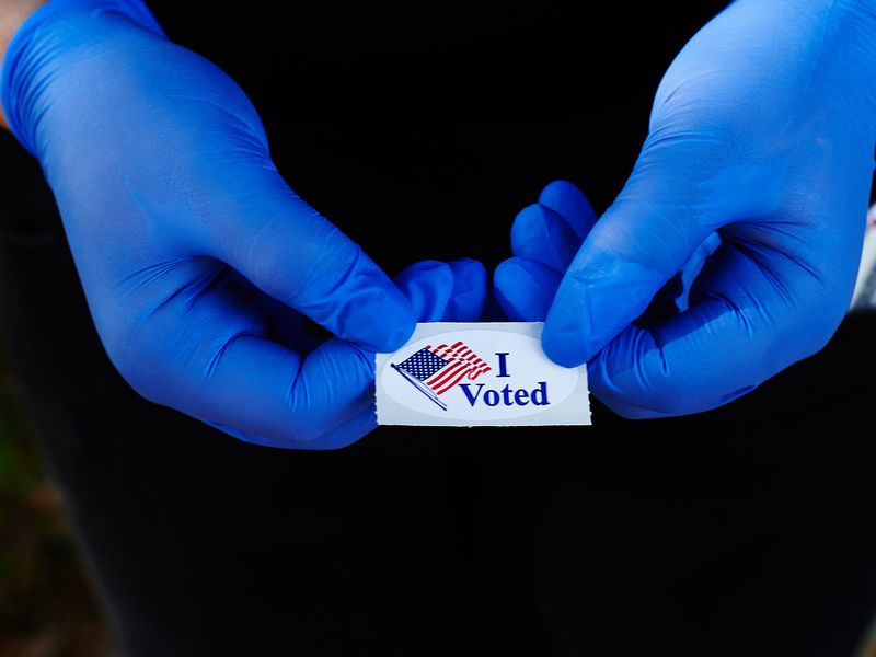 Voters head to the polls to vote in Florida's primary despite the COVID-19 virus.