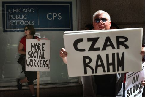 Charter-School Growth Fuels Fears of Striking Chicago Teachers