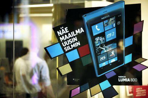 Nokia Reports Lumia Sales Topping Estimates as Losses Widen