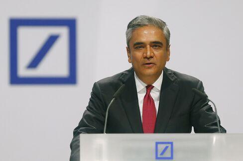 Deutsche Bank Co-CEO Anshu Jain