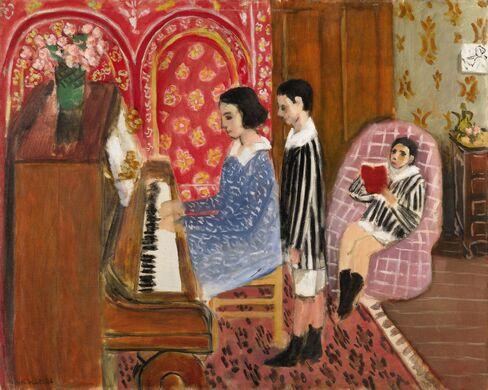 La Lecon De Piano by Henri Matisse