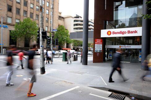 Bendigo & Adelaide Bank First-Half Profit Rose 67%