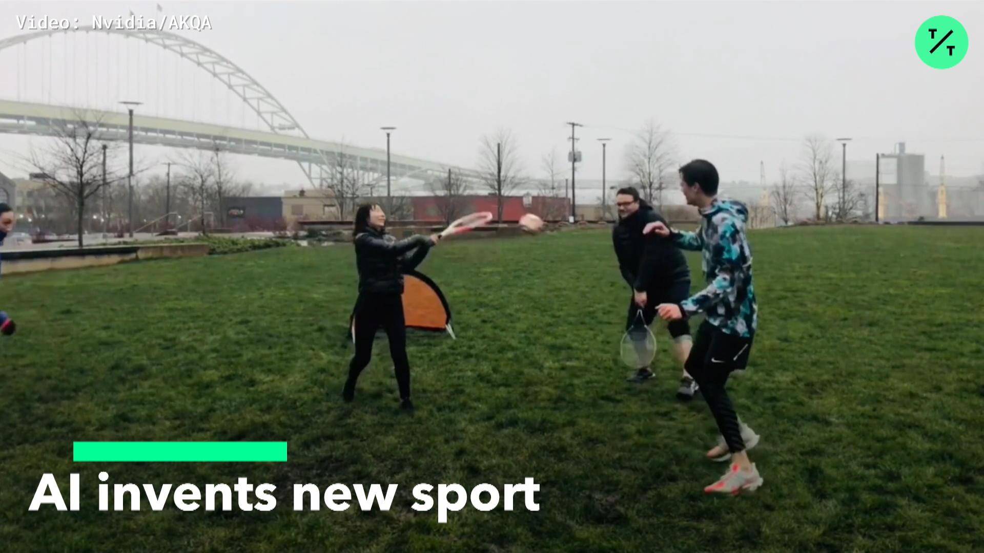 AI Invents New Sport