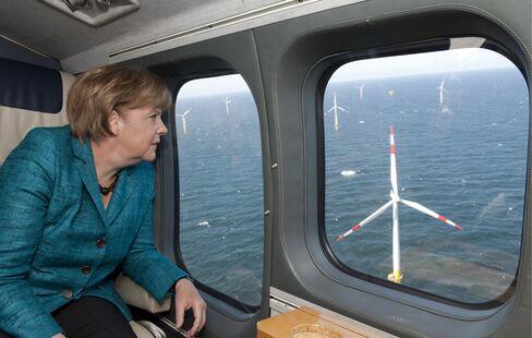 Merkel Losing Allies in $700 Billion Shift to Renewables