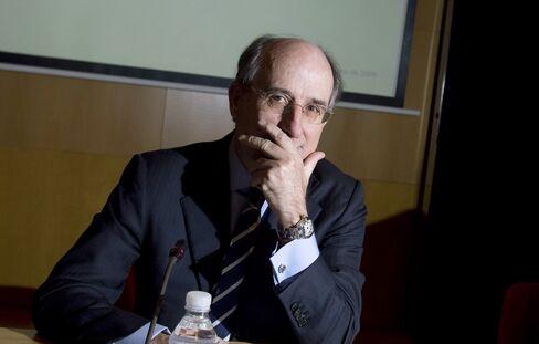 Repsol YPF SA Chairman and CEO Antonio Brufau