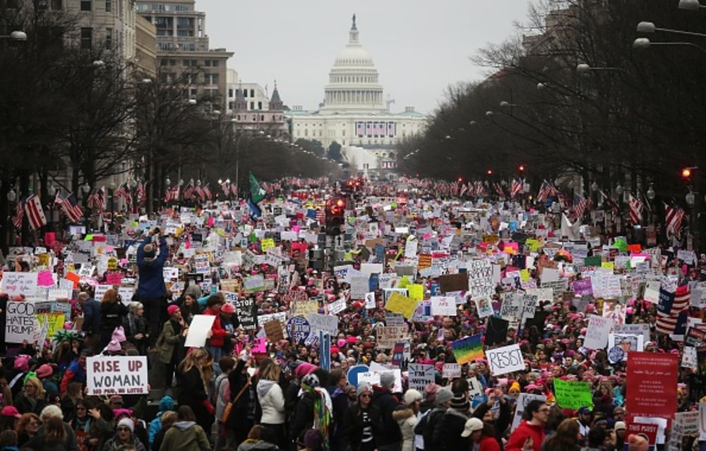 Protesters Deliver Body Blow to Trump's Populism