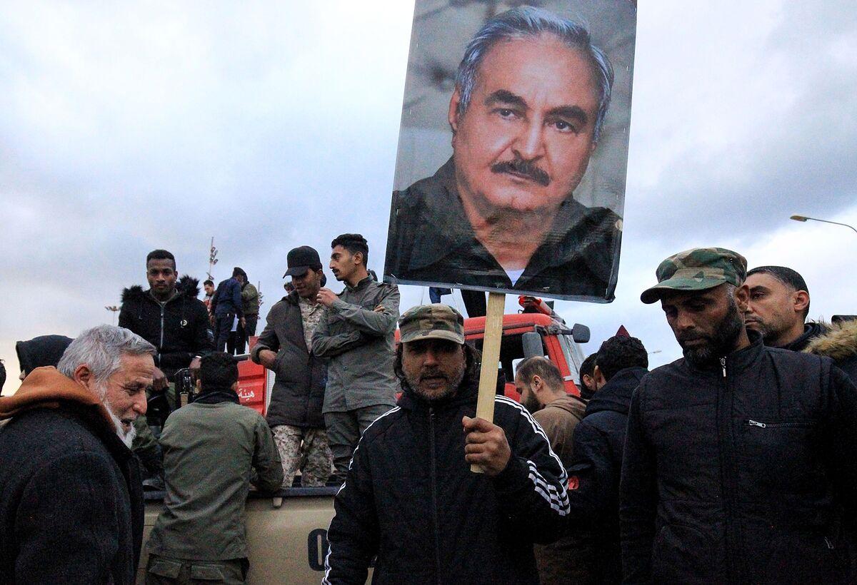 Tripoli Port Hit by Haftar, Halting Libya Cease-Fire Talks