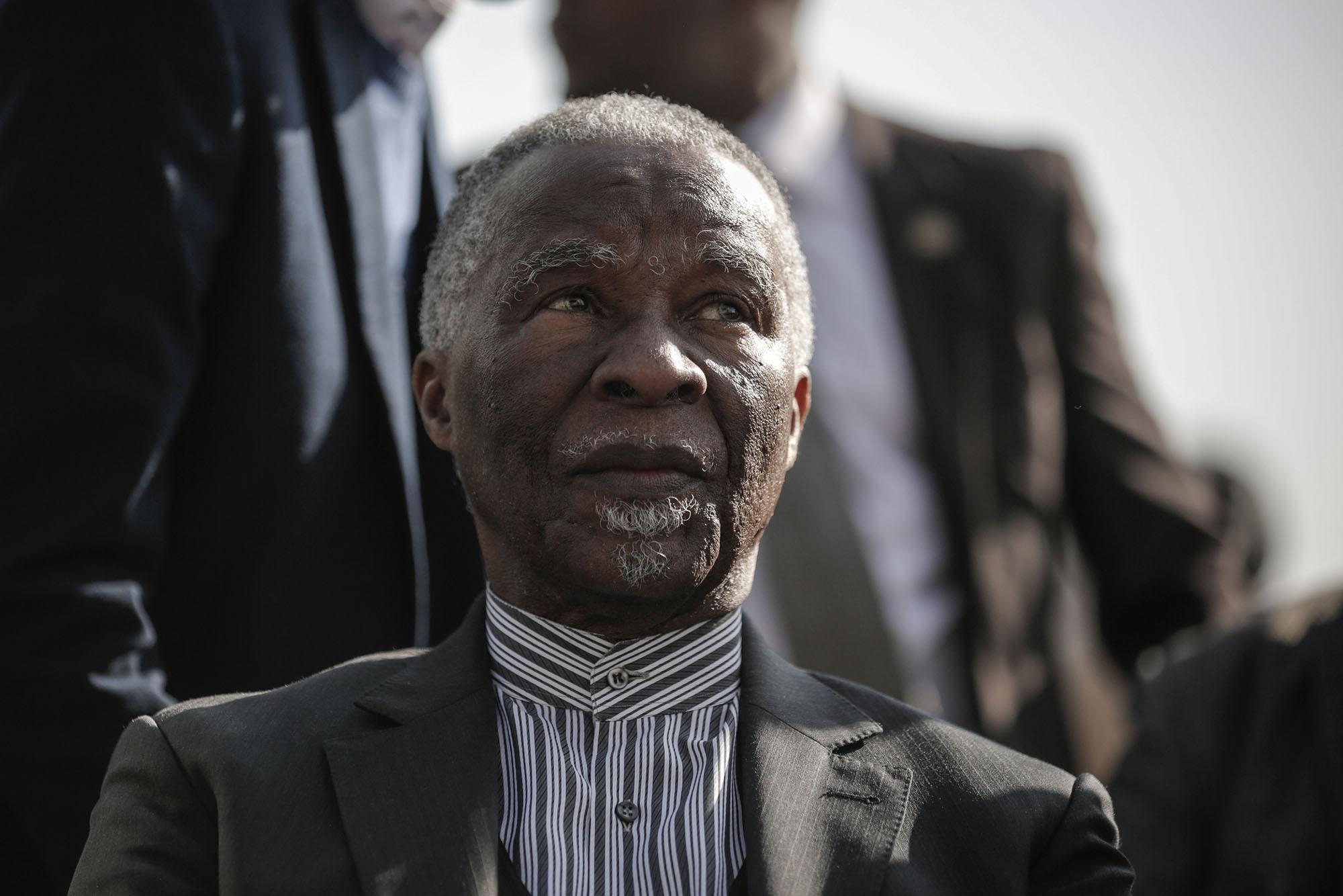 Thabo Mbeki.