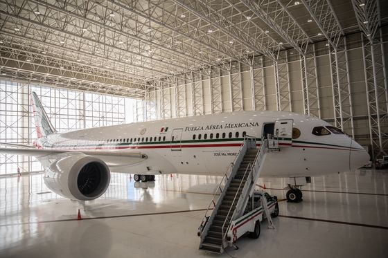 Mexico Removes the Actual Jet From Its Presidential Jet Raffle