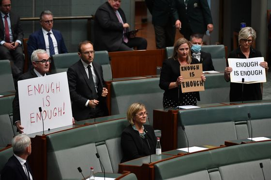 Protests Signal a Reckoning in Australia's Struggle With Sexism