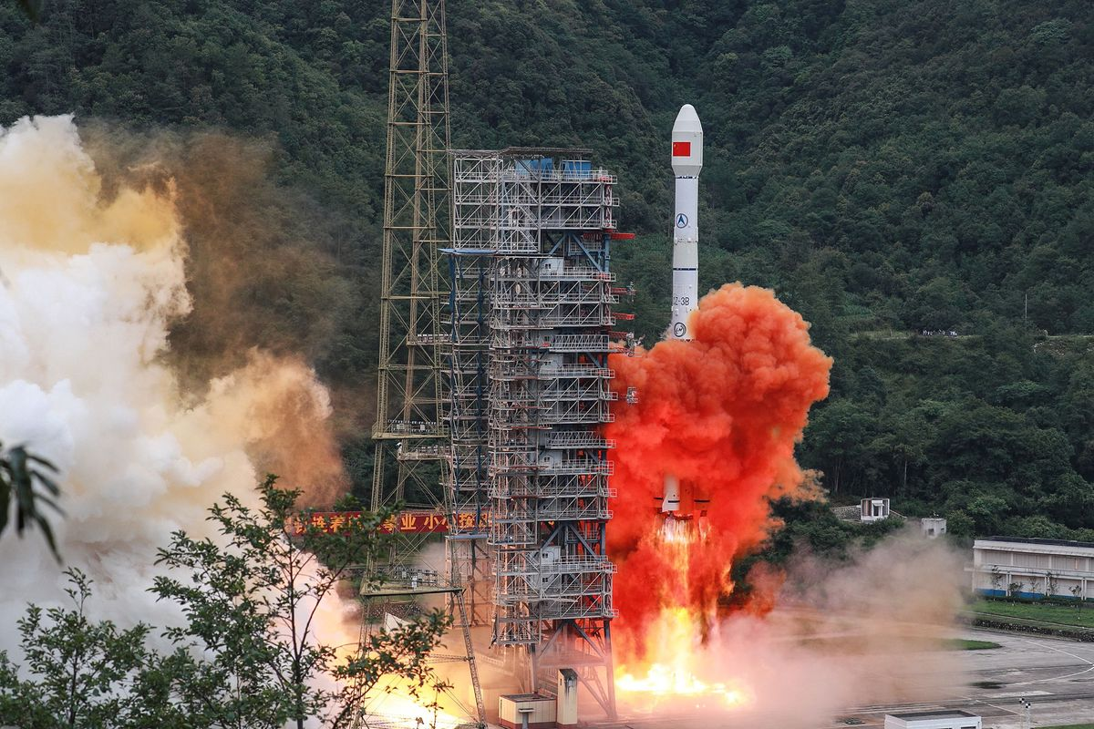GPS, Watch Out. Here Comes China's System