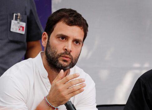 India's Congress Vice President Rahul Gandhi