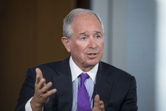 Schwarzman Nods to Victory by Biden That Trump Refuses to Accept